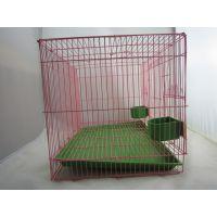 【现货供应】华塑简易宠物笼、鸟笼、宠物铁笼子、宠物笼厂家