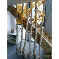 仿真枯树白桦树树杆 植物假树人工定做高度创意摄影道具枯树假树