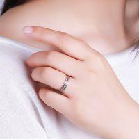 厂家直销925纯银满天星戒指女款 韩版百搭热卖手饰品 纯银首饰