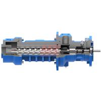MTS 20-80 R38 DQ 深孔钻高压水泵维修和更换