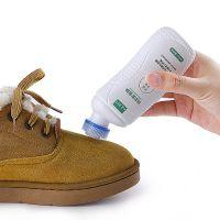FaSoLa磨砂打理液麂皮翻毛皮鞋清洁护理鞋油黑色反绒皮补色喷剂