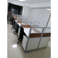 沈阳职员办公桌卡座简约现代2/4/6人屏风位隔断办公家具组合四人位