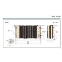 ARK-2150FIntel 第三代 Core i7-3517UE 4 x GbE 和 隔离数字IO