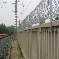 高铁防护栅栏120g锌刺丝滚笼-刺丝滚笼生产厂家