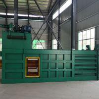 农作物液压秸秆打包机140吨 价格 废纸编织袋打包机产量