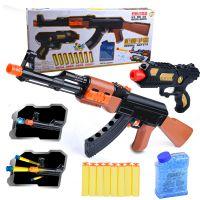 儿童水弹枪可拆卸突击步枪大号AK47 软弹枪打水晶弹珠可发射手枪