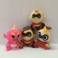 跨境专供款超人总动员2The Incredibles毛绒玩具布偶动漫娃娃机公