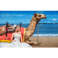 巴厘岛代拍旅拍婚纱照,常驻摄影团队,经验丰富,首对8折