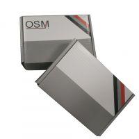 专业定做瓦楞彩盒 灰色飞机盒 折叠式白卡纸盒 定制印刷