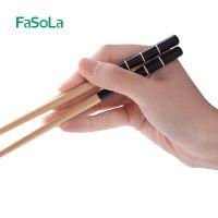 FaSoLa简约筷子家用竹木筷子寿司吃饭餐具创意情侣筷子