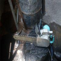 煤矿工人好帮手气动切割锯 生产混凝土切割锯