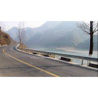 汕头热镀锌波形护栏 定制生产道路栏杆 甲型护栏 公路桥梁人行道护栏