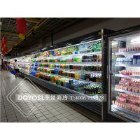 商用饮料柜冰箱展示柜超市饮料牛奶冰柜冷藏风冷敞开式