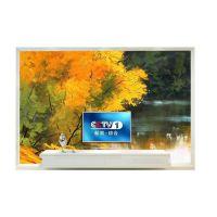 定制北欧唯美个性林间溪风景油画房间客厅卧室电视背景墙壁画壁纸