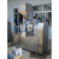 供应休闲食品玉米条加工设备TS100膨化机