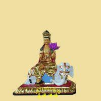 河南善缘佛像厂直销金身、托天 泰山十二老母树脂彩绘神像