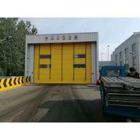 北京生产快速门滚筒式堆积门 pvc快速卷帘门