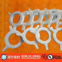聚四氟乙烯导向轮  PTFE卡盘 浮子流量计专用防腐蚀 耐酸碱密封件