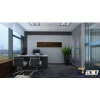 西安现代简约300平米办公室装修效果图