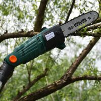 交流式高空剪电动绿篱机高枝锯园林修剪机篱笆机二合一套装修剪机