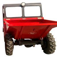 强悍性能翻斗车 小型装载机爬坡大载重 前卸式电启动蹦蹦车规格
