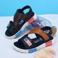 夏季学生男童儿童凉鞋 男孩沙滩鞋大童小童中童鞋子夏天夜市地摊