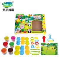 *厂家直销儿童DIY彩泥工具套装动手能力3D彩泥套装玩具