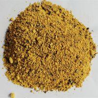 厂家生产黄色金刚砂耐磨地坪材料 硬化地面 不起砂防滑路面用