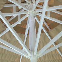 稻草伞、沙滩稻草伞定制、稻草顶篷户外伞订做工厂