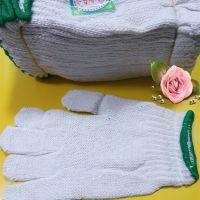 白色劳保手套700克 工作手套 冬天保暖护手套 畅销一元地摊货源