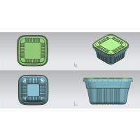 正方形防盗餐盒 环保餐盒|PP包装盒|食品PP保鲜盒|食品PP饭盒|一次性餐盒