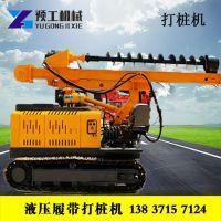 工程建筑螺旋打桩机大口径履带式旋挖钻机 12米深孔打桩机