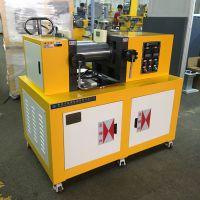 电热双辊混炼开炼机实验型压片机 锡华硅胶混炼机价格图