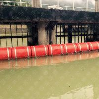 河道塑料浮筒 拦截水面漂浮垃圾 隔离浮筒