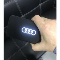 新款power bank10000毫安呼吸灯充电宝发光logo移动电源