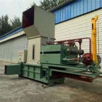 新疆中草药打包机各种药材液压打包机 立式120吨钢铁压块机普航厂家定做