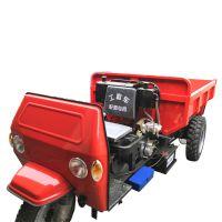 工地装载后卸式翻斗车 柴油大马力3吨自卸三轮农用拖拉机 环保型省油三轮车