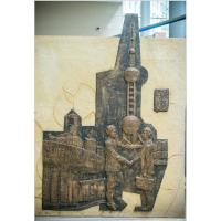 上海雕塑公司仿古浮雕人物设计 玻璃钢翻制泥塑