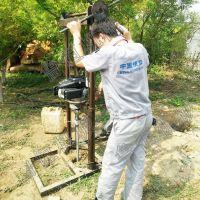 背包钻机 便携式取样钻机 科勒汽油机取样钻机30米取芯