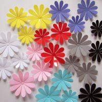 3D立体蝴蝶花片贴饰客厅卧室冰箱窗帘墙面温馨装饰品舞台布置