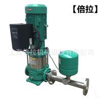 威乐变频水泵MVI1606不锈钢立式恒压稳压泵5.5KW威乐恒压变频供水