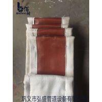 脱硫红色硅胶布/黑色氟橡胶布/异性规格定做非金属补偿器圈带蒙皮