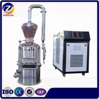 小型家用纯露机 紫铜纯露精油蒸馏设备 玫瑰花蒸馏提取设备