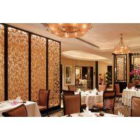 酒店不锈钢屏风创意镂空座屏隔断酒店中式现代插式不锈钢屏风隔断