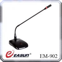 神鹰EASUN EM-902 会议电容话筒48V供电台式有线鹅颈式麦克风