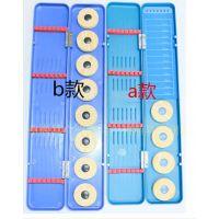漂盒 塑料多用  两用 三鱼 标盒 线盒 钩盒 蓝色多用盒