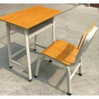 辅导班用的单人课桌椅*学生课桌椅培训桌辅导班*培训班课桌椅