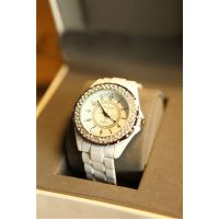 欧美外贸热卖款 经典白色满钻手表/女表/情侣表腕表 厂家直销批发