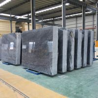 广西贺州天然大理石板材 伯爵灰大理石板 厚度可定制