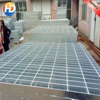 专业销售生产平台钢格板 下水道沟盖板 热镀锌钢格网盖板 钢格栅